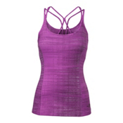 The North Face Women's Empower Tank Top, Sweet Violet Scratchy Print, medium