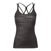 The North Face Women's Empower Tank Top, Graphite Grey Scratchy Print, medium