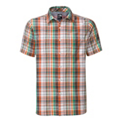 The North Face Men's S/S Solar Plaid Shirt, Mid Grey-Asphalt Grey Plaid, medium