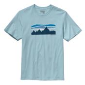 Patagonia Fitz Roy Banner T-Shirt, Tubular Blue, medium