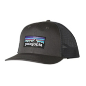 Patagonia P6 Trucker Hat, Forge Grey, medium