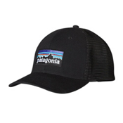 Patagonia P-6 Trucker Hat, Black, medium