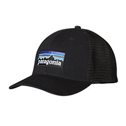 Patagonia P-6 Trucker Hat, Black, 256