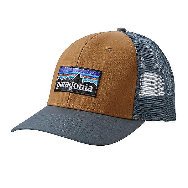 Patagonia P-6 Trucker Hat, Bear Brown, 600