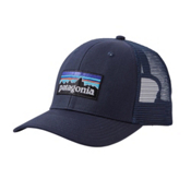 Patagonia P-6 Trucker Hat, Navy Blue-Navy Blue, medium