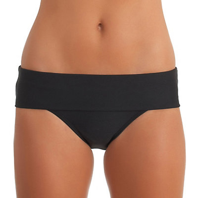 Next Good Karma Retro Bathing Suit Bottoms, Black, viewer