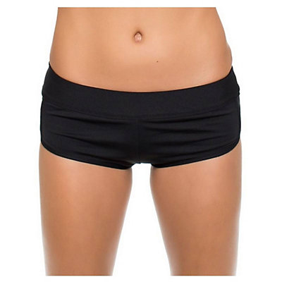 Next Good Karma Banded Shorts Bathing Suit Bottoms, Black, viewer