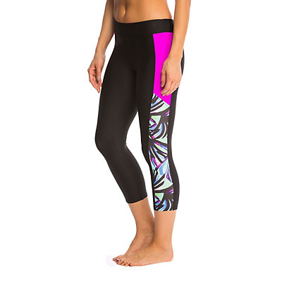 Next Power Thur It Crop Pant Bathing Suit Bottoms, , viewer