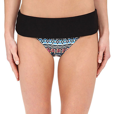 Next Find Your Chi Retro Pant Bathing Suit Bottoms, Black, viewer