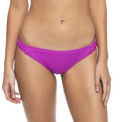 Oakley Core Solids Tab Side Bathing Suit Bottoms, Pink, medium