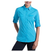 KUHL Airkraft Womens Shirt, Skylight, medium