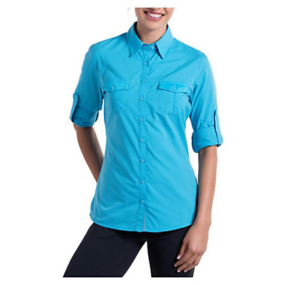 KUHL Airkraft Womens Shirt, Skylight, viewer