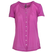 KUHL Geneva Short Sleeve Womens Shirt, Wild Rose, medium