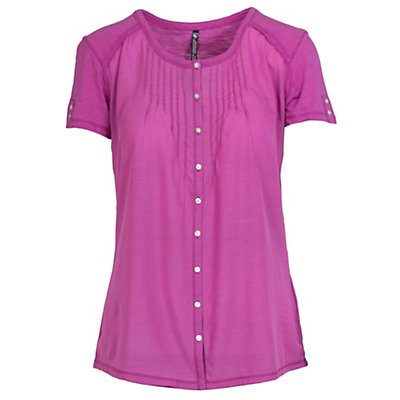 KUHL Geneva Short Sleeve Womens Shirt, Wild Rose, viewer