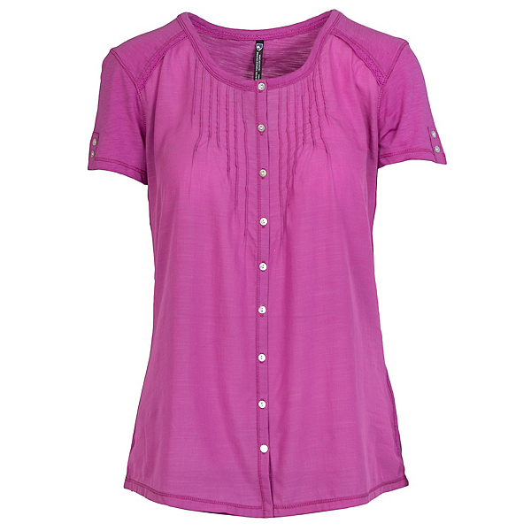 KUHL Geneva Short Sleeve Womens Shirt, Wild Rose, 600