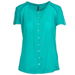 KUHL Geneva Short Sleeve Womens Shirt, Mountain Jade, 256