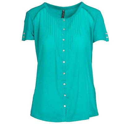 KUHL Geneva Short Sleeve Womens Shirt, Wild Rose, viewer