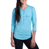KUHL Khloe Womens Shirt, Skylight, medium