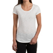 KUHL Khloe Short Sleeve Womens Shirt, White, medium