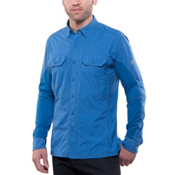 KUHL Airspeed Long Sleeve Shirt, Lake Blue, medium
