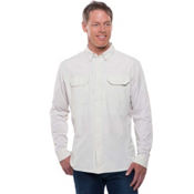 KUHL Airspeed Long Sleeve Mens Shirt, Khaki, medium
