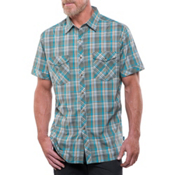 KUHL Konquer Short Sleeve Shirt, Wild Olive, medium