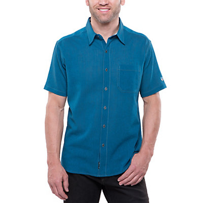 KUHL Tropik Mens Shirt, Kosmic Blue, viewer