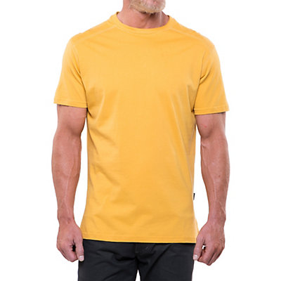 KUHL Bravado Mens T-Shirt, Sunset Gold, viewer