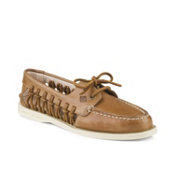 Sperry A/O Haven Leather Womens Shoes, Sahara, medium