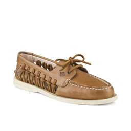 Sperry A/O Haven Leather Womens Shoes, Sahara, 256