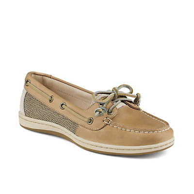 Sperry Firefish Core Womens Shoes, Linen-Oat, viewer