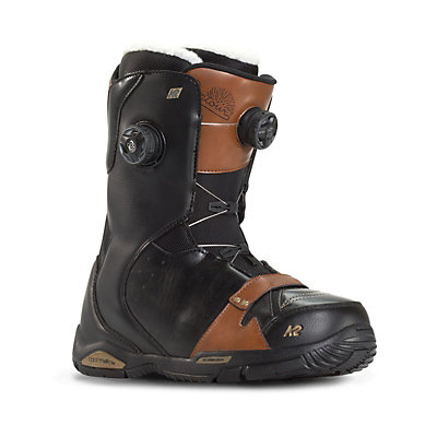 K2 Contour Womens Snowboard Boots, Black, viewer