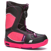 K2 Lil Kat Girls Snowboard Boots 2017, Black, medium