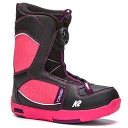 K2 Lil Kat Girls Snowboard Boots, Black, 256