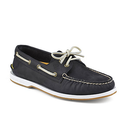 Sperry A/O Captains Mens Shoes, Navy, viewer