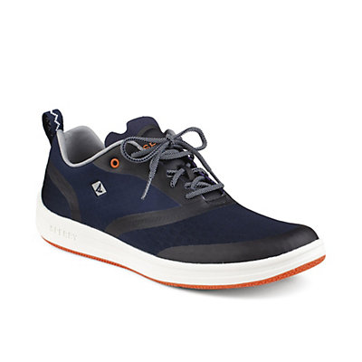 Sperry Deck Lite Mens Watershoes, Navy-Orange, viewer