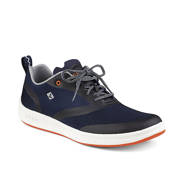 Sperry Deck Lite Mens Watershoes, Navy-Orange, 600