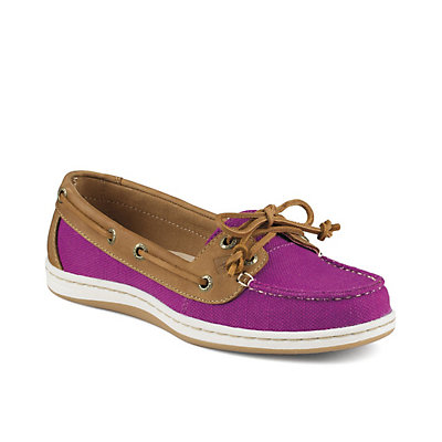 Sperry Firefish Nubby Canvas Womens Shoes, Bright Pink, viewer