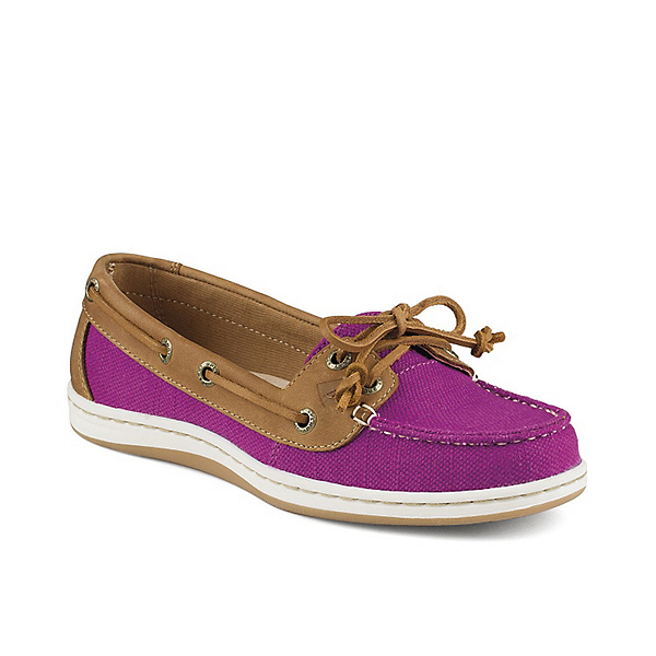 Sperry Firefish Nubby Canvas Womens Shoes, Bright Pink, 600