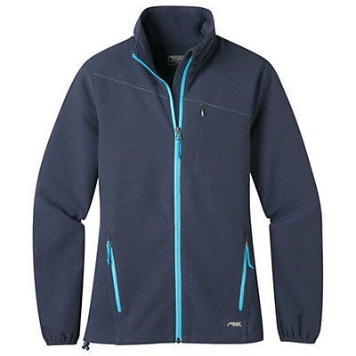 Mountain Khakis Foxtrot LT Softshell Womens Jacket, Midnight Blue, viewer