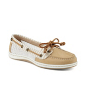 Sperry Firefish Stripe Mesh Womens Shoes, Sand, medium