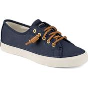 Sperry Seacoast Canvas Womens Shoes, Navy, medium