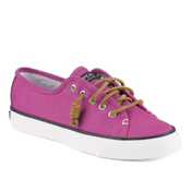 Sperry Seacoast Canvas Womens Shoes, Bright Pink, medium