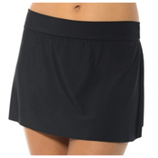 Magicsuit Jersey Solid Skirt, Black, medium