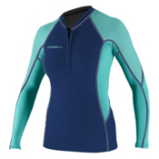 O'Neill SuperTech Long Sleeve Crew Womens Rash Guard, , medium