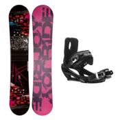Joyride Picture R Stealth 3 Snowboard and Binding Package, , medium
