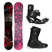 Joyride Picture R ST-1 Complete Snowboard Package, , medium