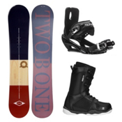 2B1 Classical ST-1 Complete Snowboard Package, , medium