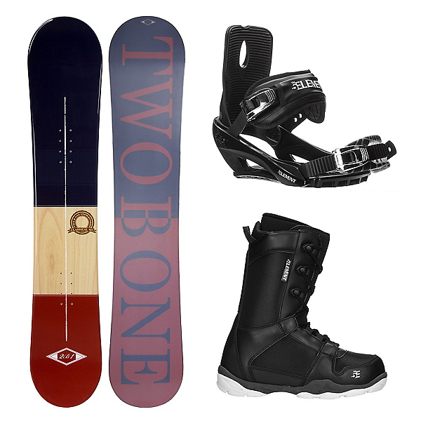 2B1 Classical ST-1 Complete Snowboard Package, , 600