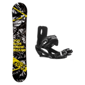 Joyride Chaos Yellow Stealth 3 Snowboard and Binding Package, , medium